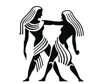 Gemini (Astrology) svg #5, Download drawings
