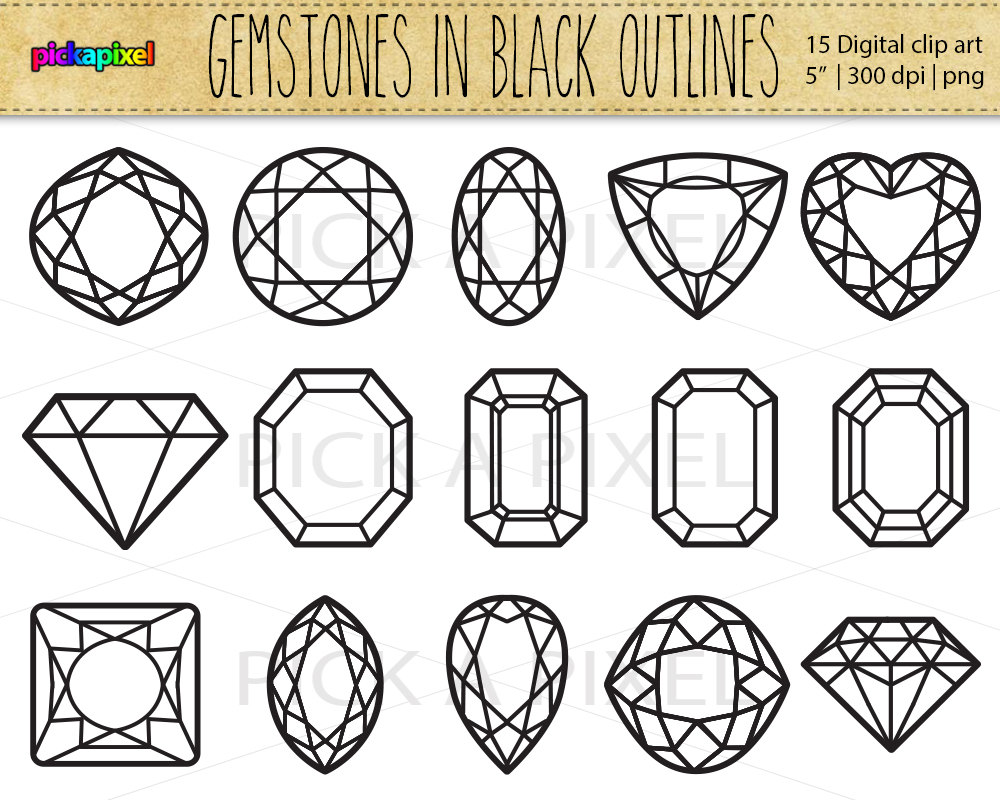 Gemstones clipart #19, Download drawings