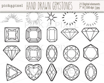 Gemstones clipart #7, Download drawings