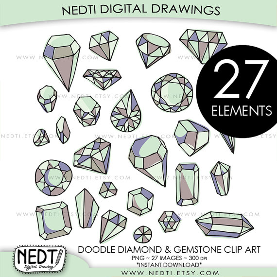 Gemstones clipart #2, Download drawings