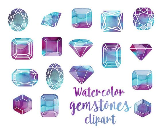 Gemstones clipart #3, Download drawings