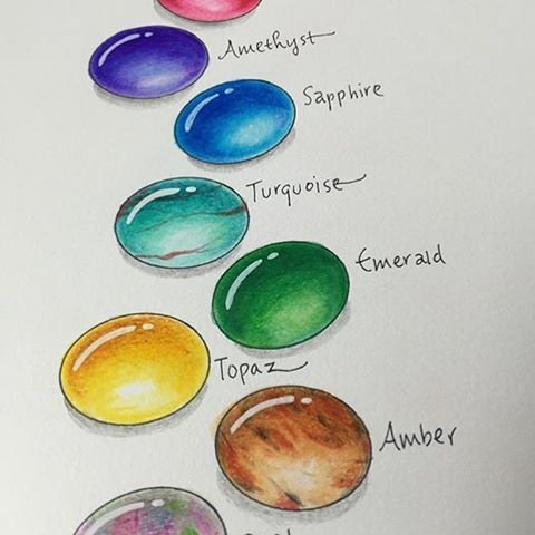 Gemstones coloring #17, Download drawings