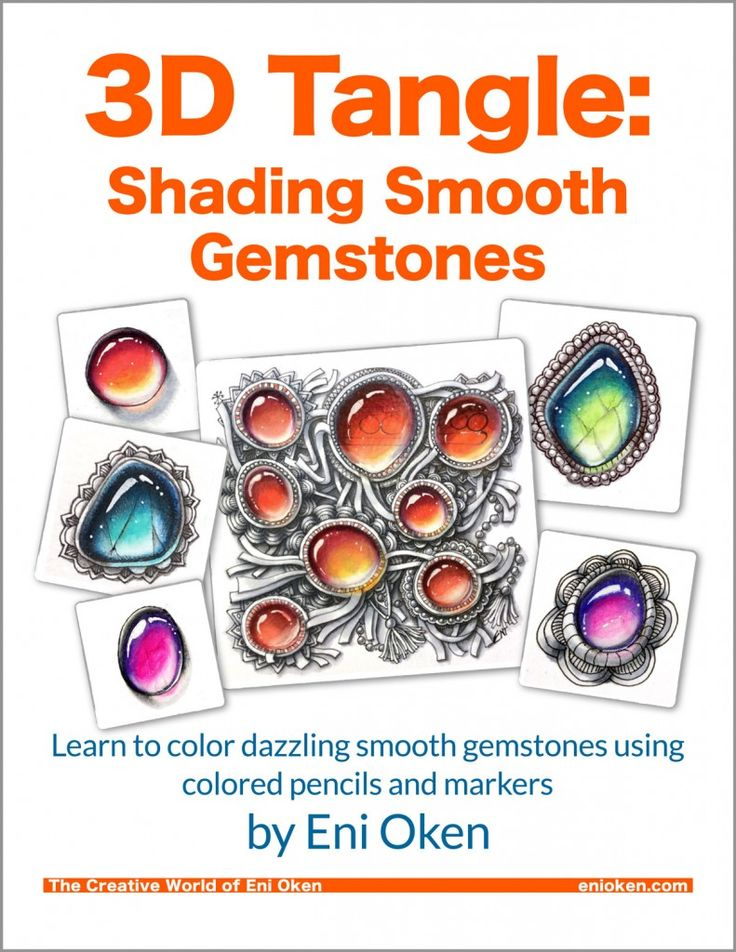 Gemstones coloring #5, Download drawings