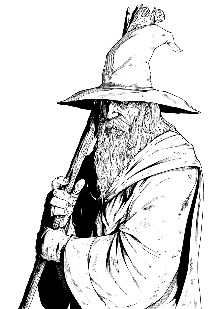 Gendalf clipart #20, Download drawings