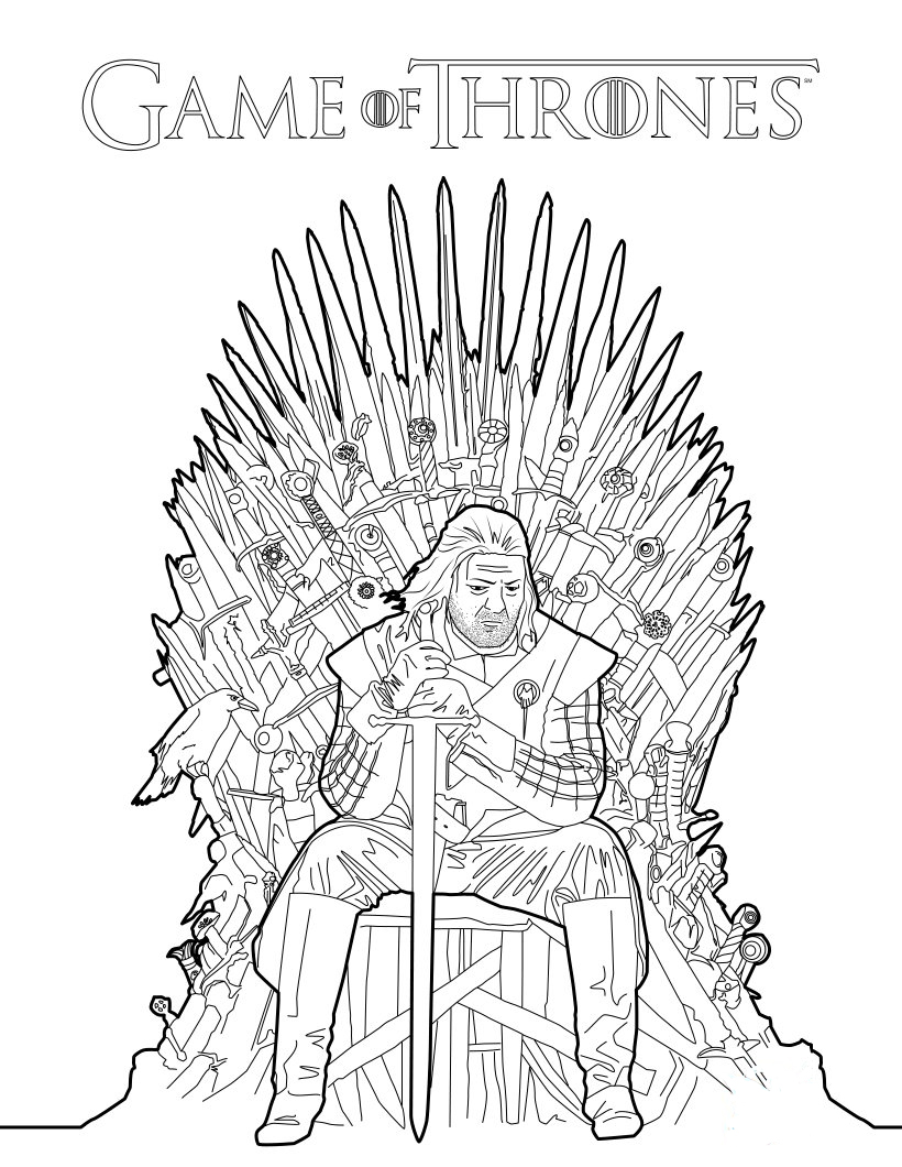 George R.r. Martin coloring #10, Download drawings
