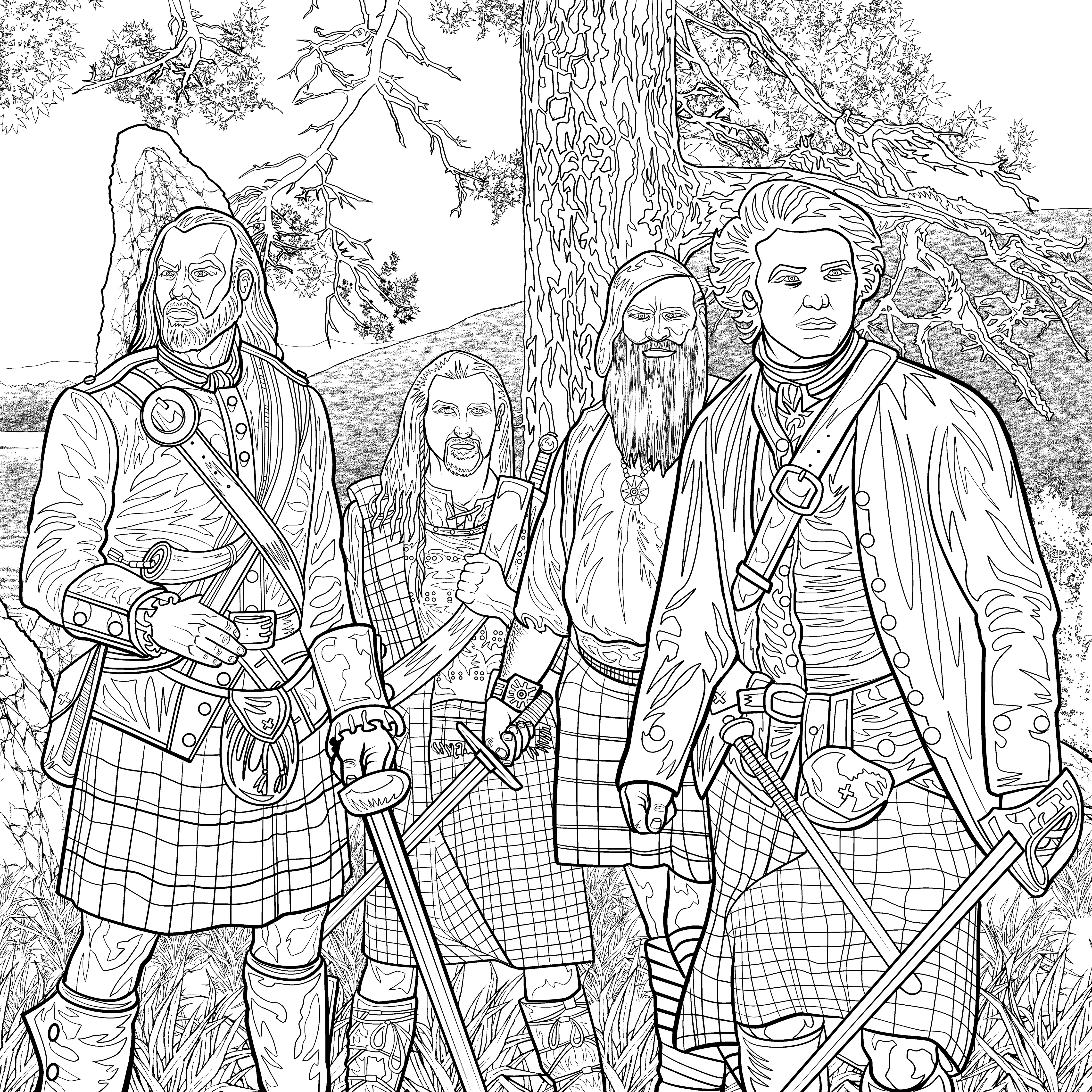 George R.r. Martin coloring #17, Download drawings