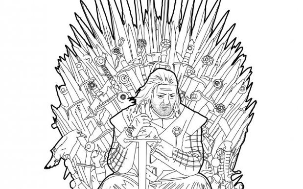 George R.r. Martin coloring #11, Download drawings