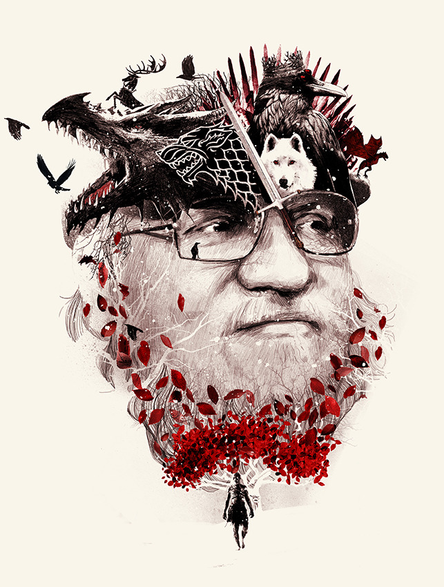 George R.r. Martin svg #16, Download drawings