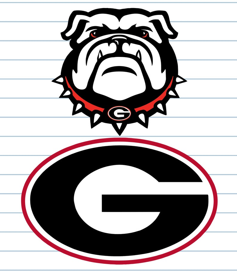 georgia bulldog svg #609, Download drawings