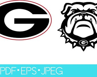 georgia bulldog svg #615, Download drawings