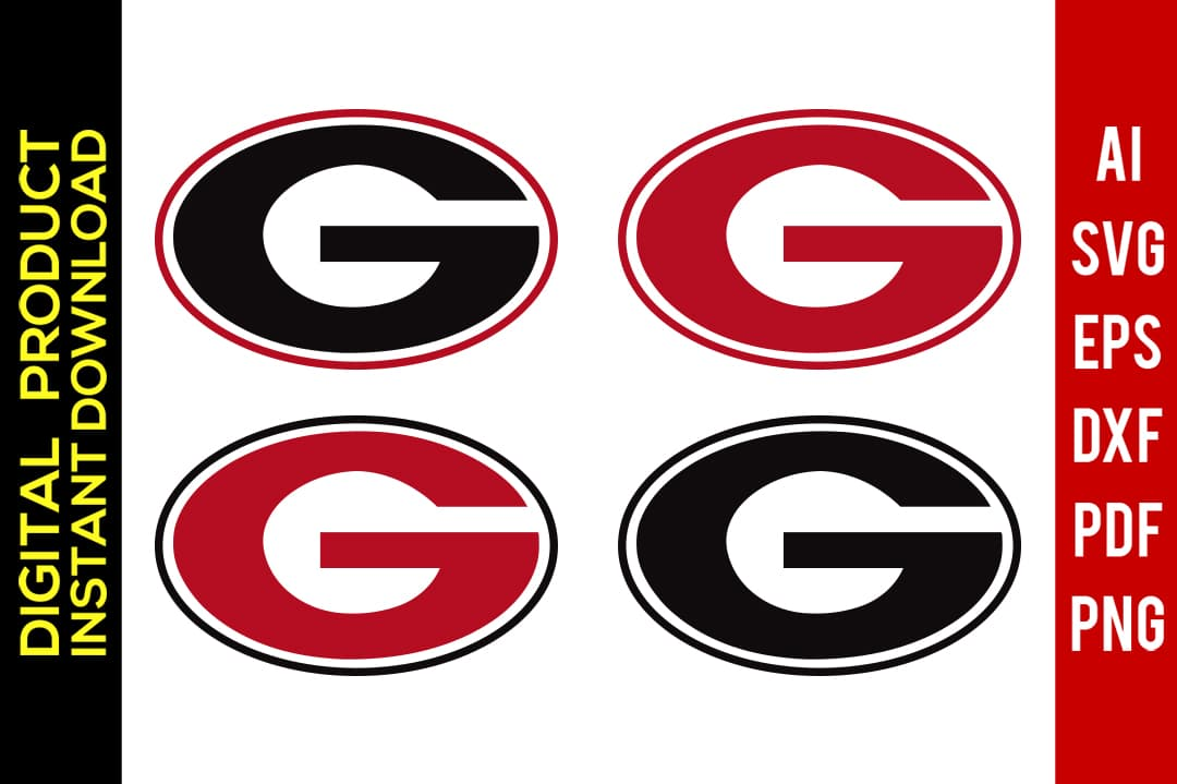 georgia bulldog svg #607, Download drawings