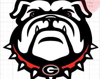 georgia bulldog svg #611, Download drawings