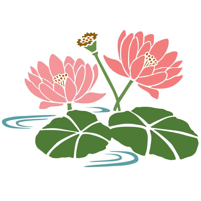 Water Lily Stencil Black And White: Geranium Svg, Download Geranium Svg For Free 2019