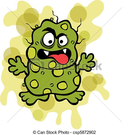 Microbe clipart #1, Download drawings