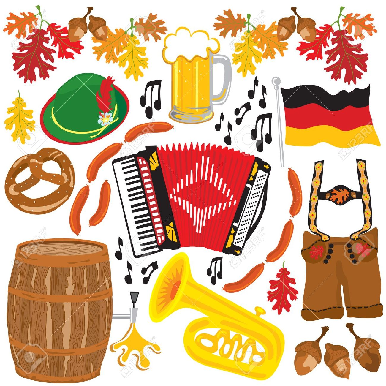 German clipart #15, Download drawings