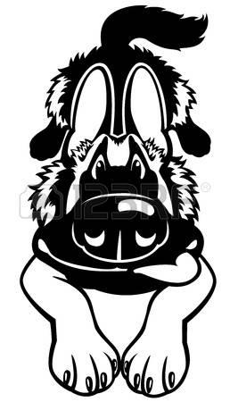German Shepherd clipart #6, Download drawings