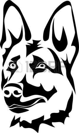 German Shepherd clipart #5, Download drawings