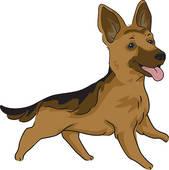 German Shepherd clipart #19, Download drawings