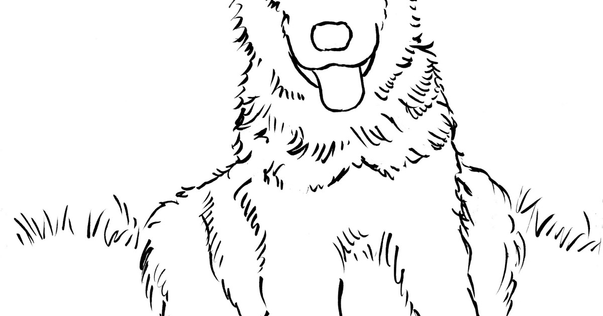 German Shepherd coloring #20, Download drawings