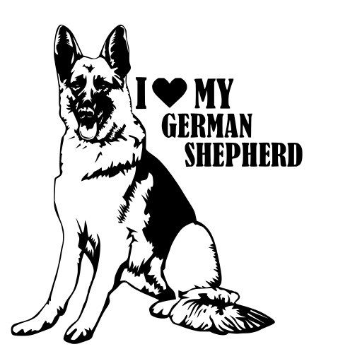 German Shepherd svg #174, Download drawings