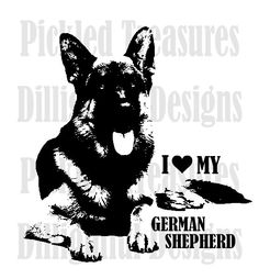 German Shepherd svg #999, Download drawings