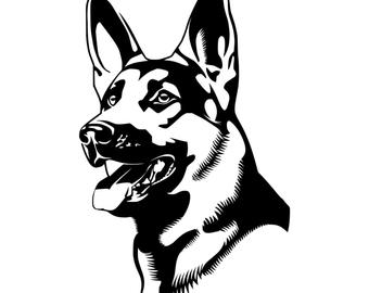 German Shepherd svg #180, Download drawings