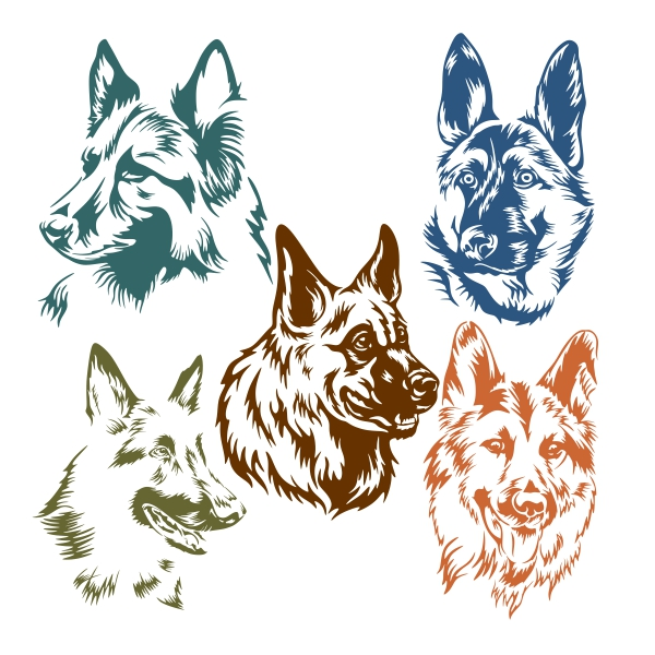 German Shepherd svg #9, Download drawings