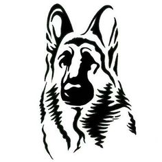 German Shepherd svg #7, Download drawings