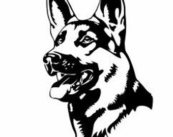 German Shepherd svg #179, Download drawings