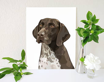 German Shorthaired Pointer svg #3, Download drawings