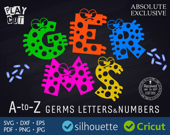 Microbe svg #8, Download drawings