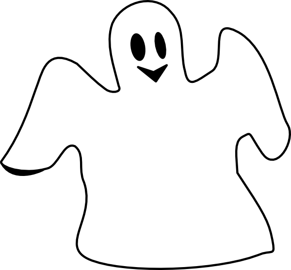 Ghost clipart #2, Download drawings
