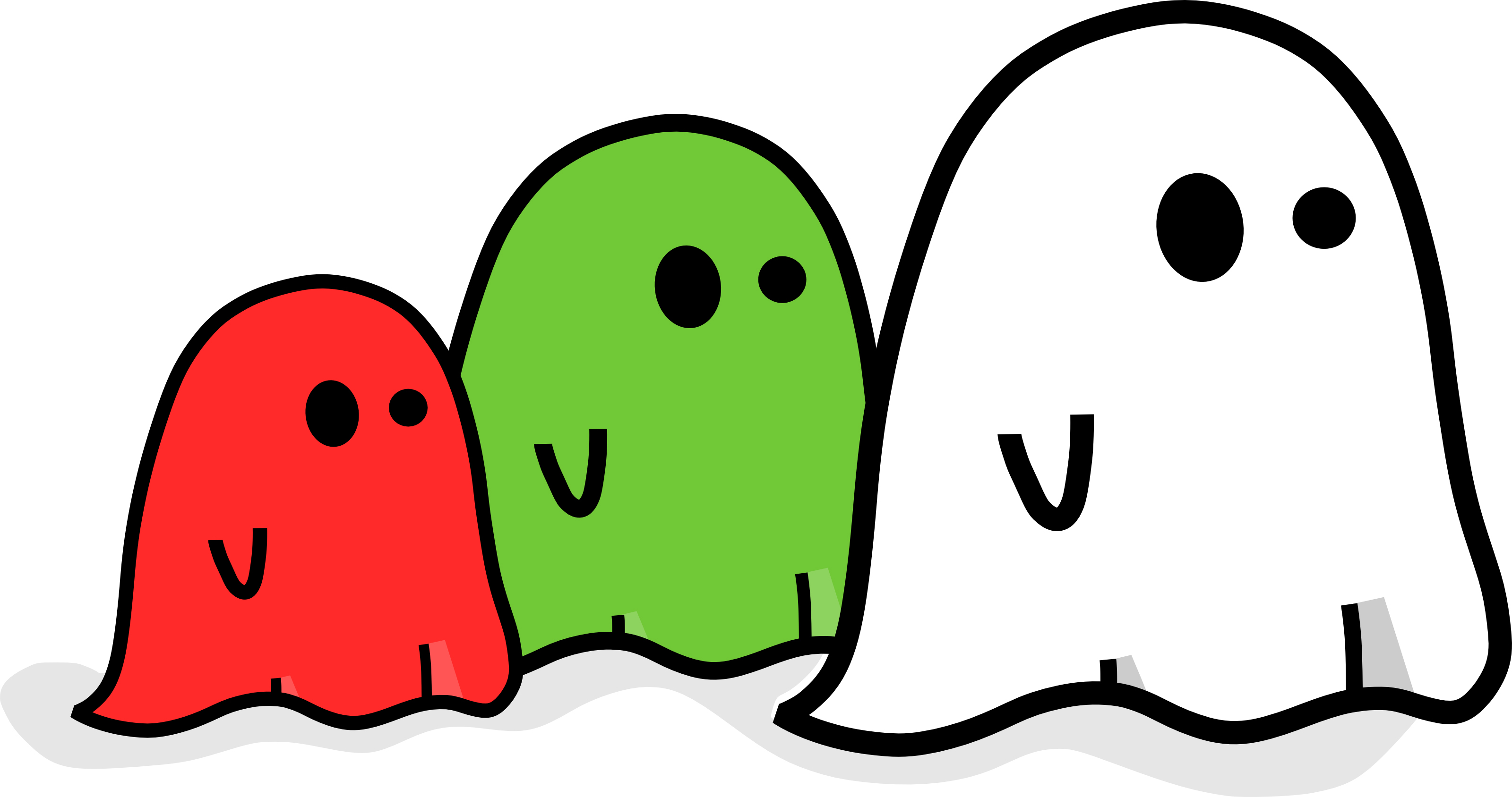Ghost clipart #3, Download drawings