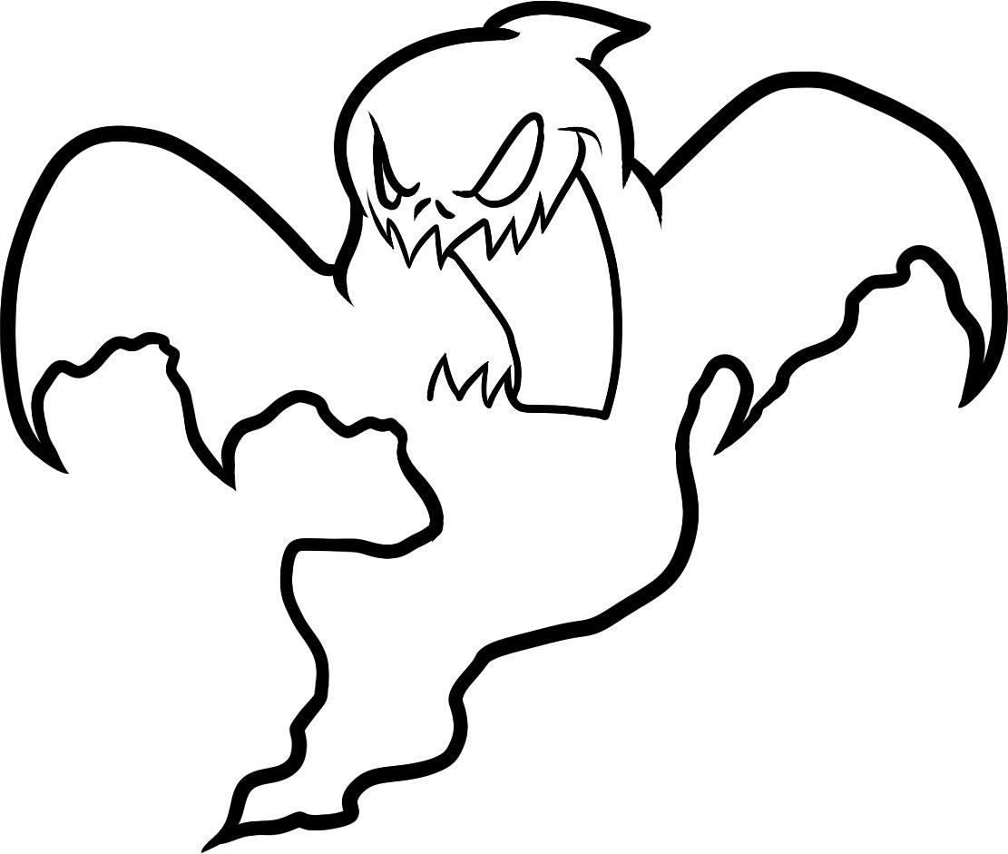 Ghost coloring #18, Download drawings