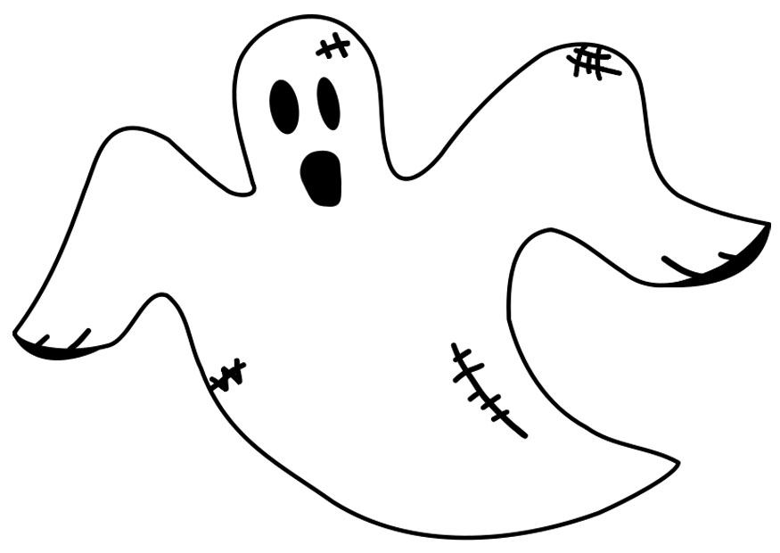 Ghost coloring #19, Download drawings