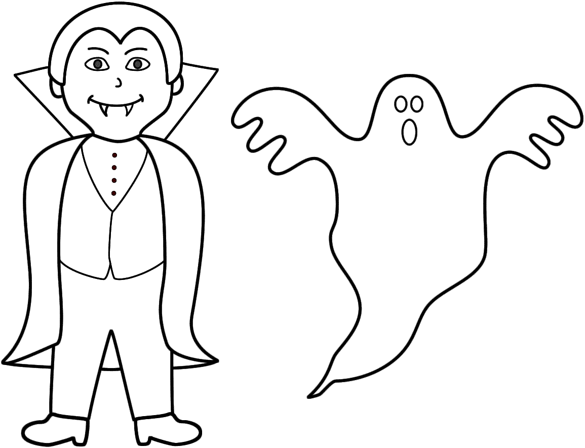 Ghost coloring #3, Download drawings