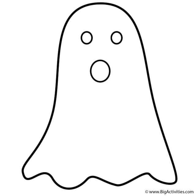 Ghost coloring #2, Download drawings