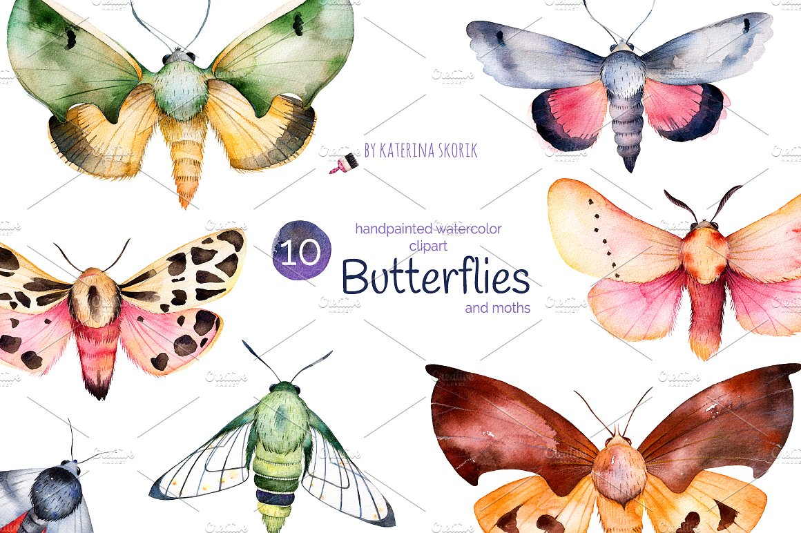 Ghost Moth clipart #6, Download drawings