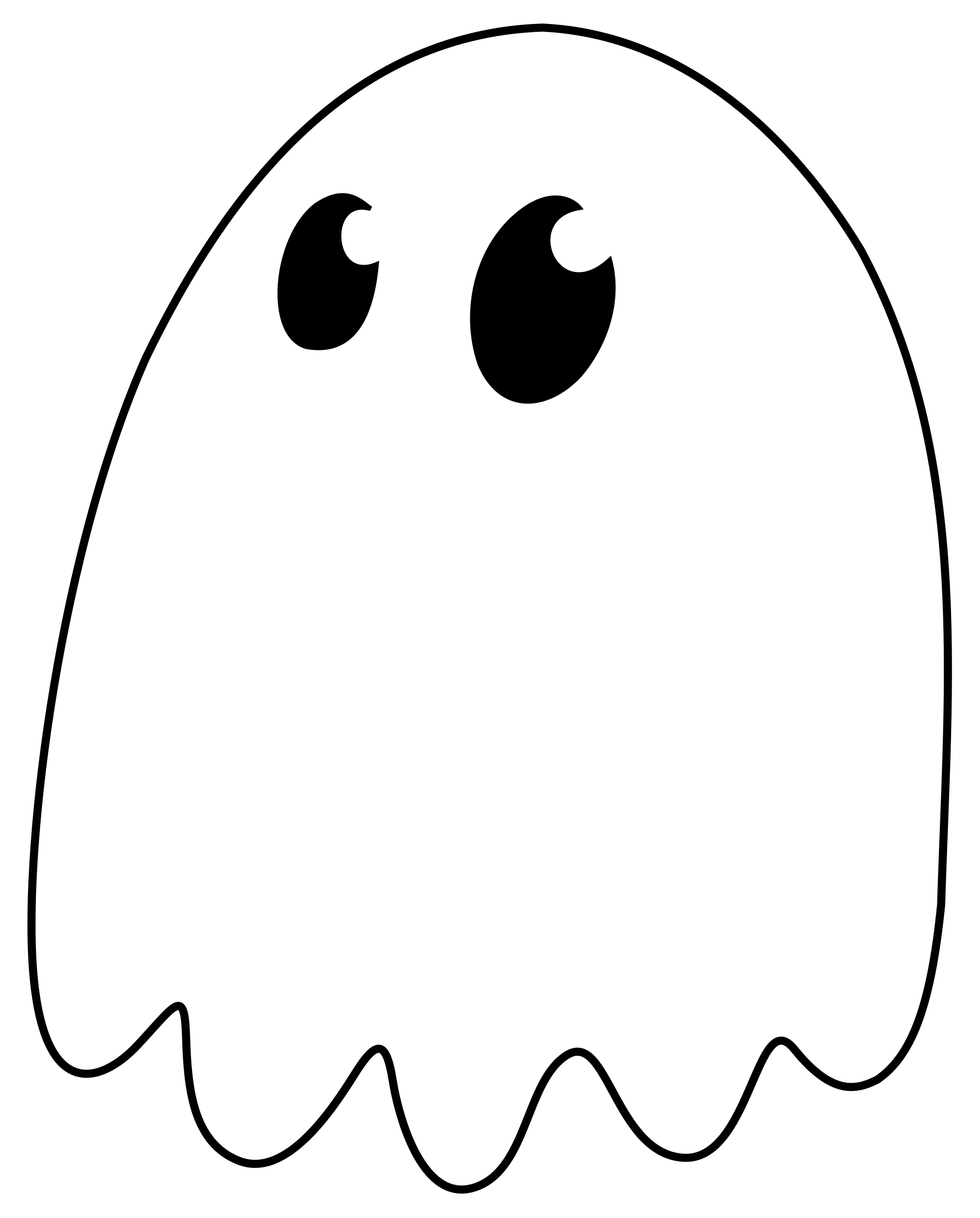 Ghost svg #10, Download drawings