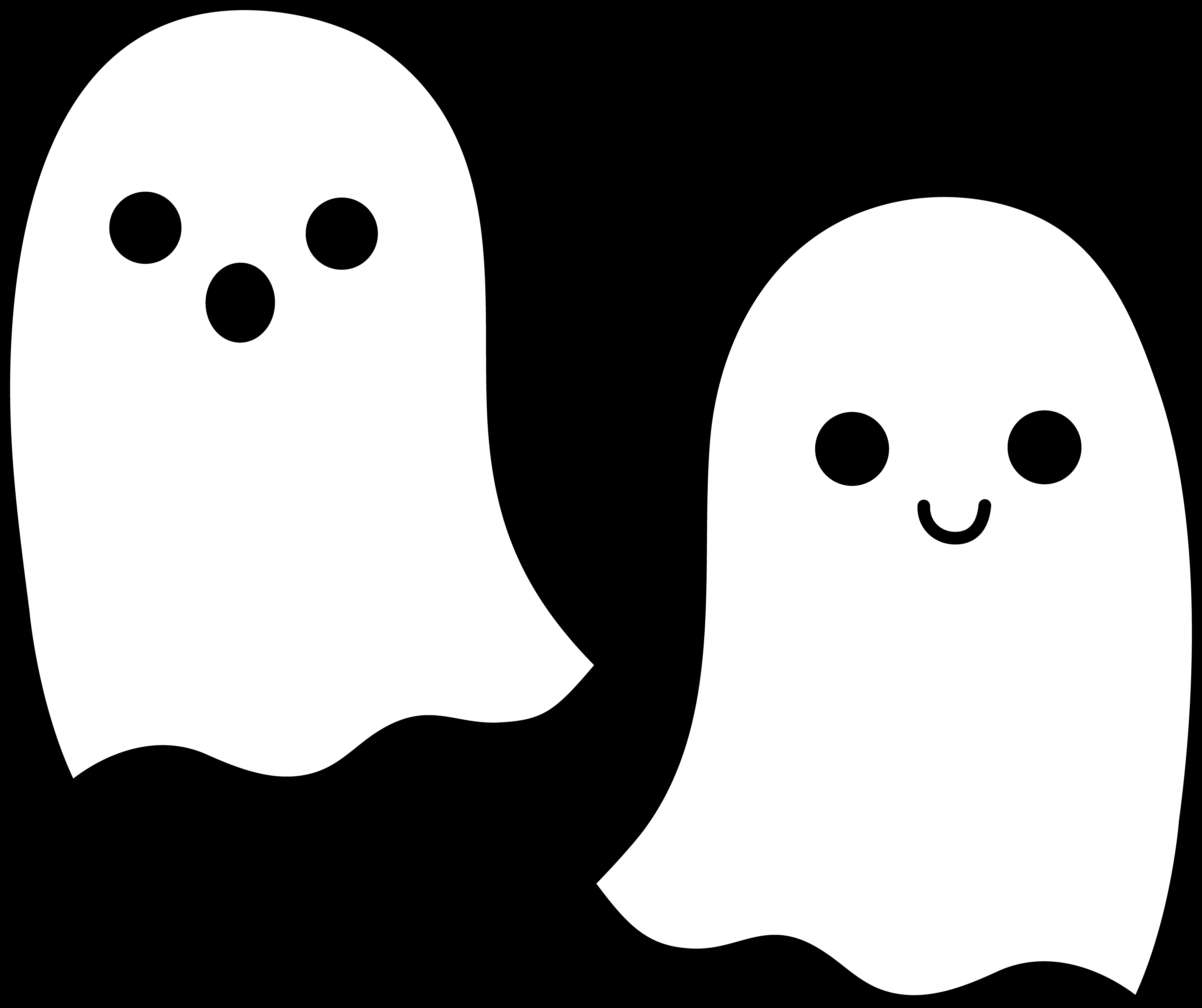 Ghostly Girl svg #14, Download drawings
