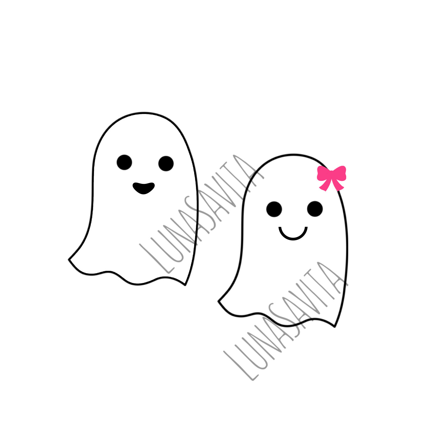 Ghostly Girl svg #19, Download drawings