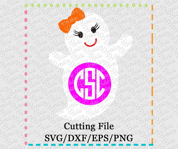 Ghostly Girl svg #20, Download drawings