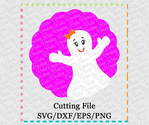Ghostly Girl svg #16, Download drawings