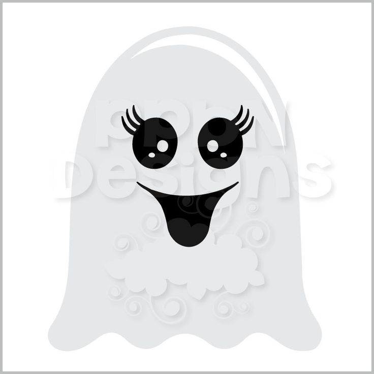 Ghostly Girl svg #15, Download drawings