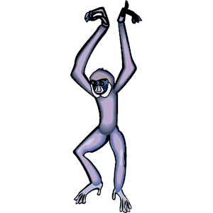 Gibbon clipart #15, Download drawings