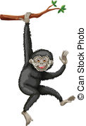 Gibbon clipart #13, Download drawings