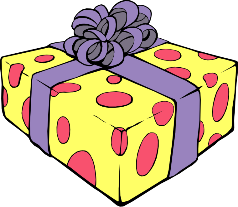 Gift clipart #3, Download drawings