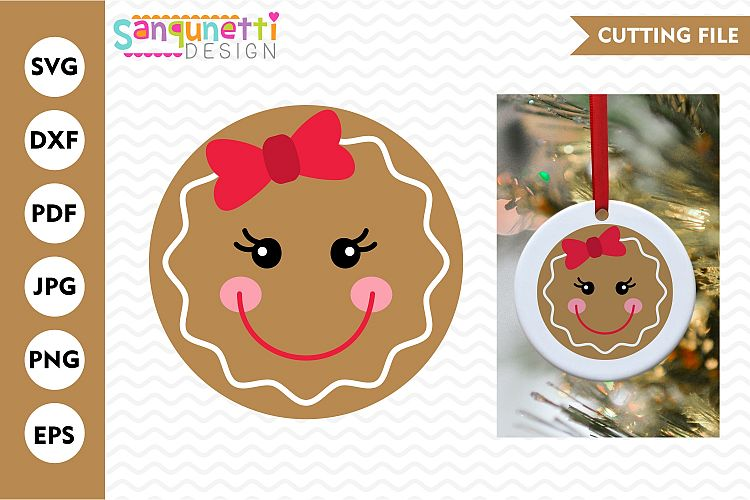gingerbread face svg #806, Download drawings