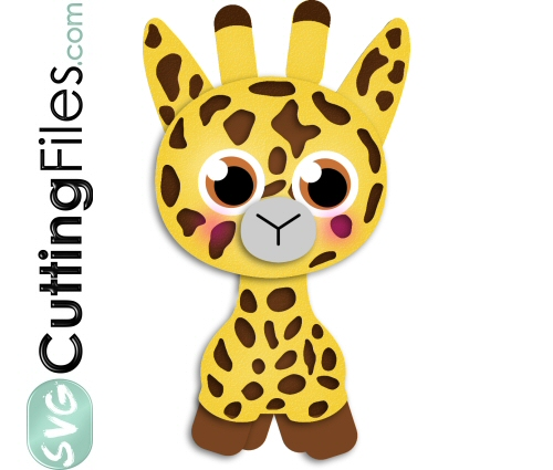 Giraffe svg #11, Download drawings
