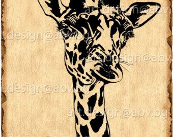 Giraffe svg #13, Download drawings
